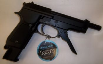 KWA M93R II NS2 Gas Blowback Pistol (Full Metal)